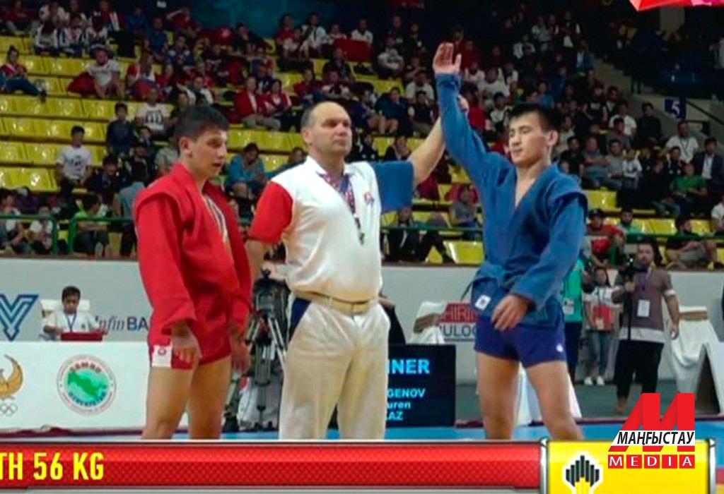 Маңғыстаулық Дәурен Төлегенов самбодан әлем чемпионы атанды